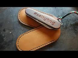 Работа с кожей. <b>Чехол</b> для <b>victorinox</b>. <b>leather</b> case for <b>victorinox</b> ...