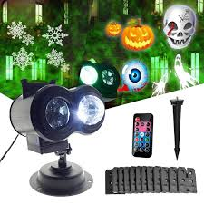 Mini Projector <b>Christmas</b> Light 14 Slides <b>Halloween</b> Lights Stage ...