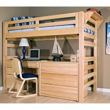 amazing twin bunk bed with amazing loft bed desk
