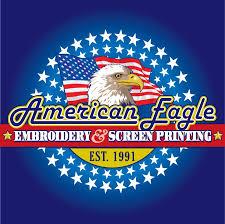 <b>American Eagle</b> Embroidery & Screen <b>Printing</b>, LLC - Home ...