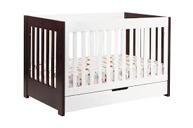 babyletto mercer in convertible crib with toddler rail two