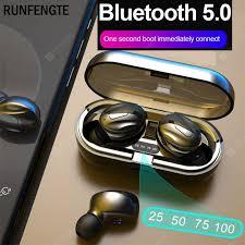 <b>New Wireless Bluetooth</b> Earphone TWS 5.0 Earphones IPX5 ...