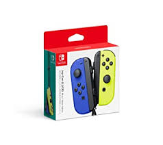 Nintendo Blue/ Neon Yellow Joy-Con (L-R) - Switch ... - Amazon.com