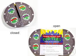 diy ninja turtle birthday invitations diy projects ideas ninja turtles birthday invitations templates ideas