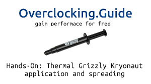 Hands-On: <b>Thermal Grizzly Kryonaut</b> [application and spreading ...