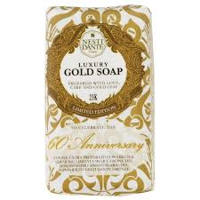 <b>Мыло</b> кусковое Nesti Dante <b>60th Anniversary</b> Luxury Gold 23K