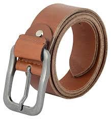 ShopnZ <b>Men's Genuine Leather</b> Casual Belt - <b>Full</b> Grain Heavy Duty ...