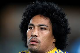 Fuifui Moimoi of the Eels looks on from the players bench during the round 26 NRL match between the Parramatta Eels and the ... - Fuifui%2BMoimoi%2BNRL%2BRd%2B26%2BEels%2Bv%2BWarriors%2BGIGUTsdSaT4l