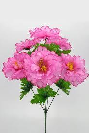Букеты из искусственных цветов: георгины розовые в Омске ...