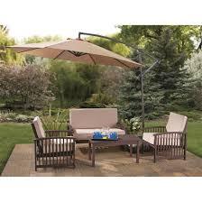 cantilever patio umbrellas full castlecreek  foot cantilever patio umbrella aluminum pole