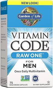 Garden of Life Multivitamin for Men, <b>Vitamin Code Raw One</b> for Men
