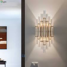 Detail Feedback Questions about Modern Gold Metal <b>Led</b> Wall ...