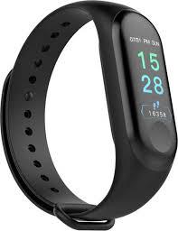 Купить фитнес-<b>браслет ZDK M3</b> Simple, черный в каталоге ...