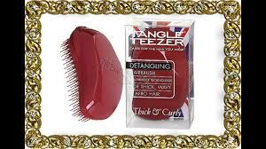 <b>Расческа Tangle Teezer</b> Original <b>Thick</b> & Curly - YouTube