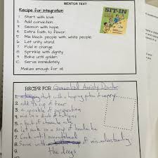 genre mr anderson reads writes diane tells us you can differentiate by having some of the genre artifact planning pages have sentence starters we share out they are amazing
