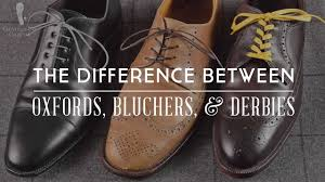 <b>Men's Dress Shoes</b>: Difference Between <b>Oxford</b> , Derby & Blucher ...