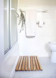 cedar bath mat for spa bathroom decorating blog spa bathroom