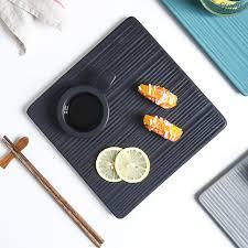 Плоская <b>Квадратная тарелка</b> японская кухня керамическая ...