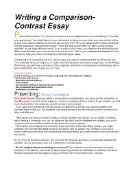 how to do a compare and contrast essay how to start a compare and resume tips for building a making how to write best inspiring resume best photos of write
