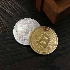 Online Shop <b>Gold Plated</b> Physical Bitcoins Casascius Bit <b>Coin</b> BTC ...