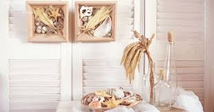 Декор на стену из ракушек и <b>колосьев</b> - Vekoria. Handmade <b>decor</b> ...