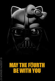 Hello Kitty Darth Vader, Darth Vader, Hello Kitty, May the 4th, May the 4th be with you, girl,#Darth #Vader #Star #Wars #May #the #Fourth #be #with #You #Star #Wars #Day #May #meme #quote #starwars #inspiration #happy #vmcblog #fun #enjoy #starwar