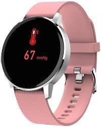 Смарт-часы <b>GEOZON Sky</b> silver, pink — купить <b>умные часы</b> по ...