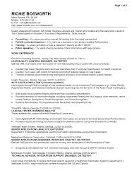 software qa tester resume sample cipanewsletter cover letter software tester resume sample software tester resume