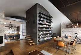 attic living room design youtube: custom reconstructed attic loft apartment with hipster modernity and vintage furniture youtube