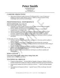 click here to download this quality assurance engineer resume    quality assurance resume example