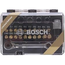 <b>Набор бит с</b> ключом-трещоткой Bosch, 27 шт. в Москве – купить ...