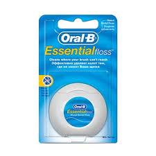 <b>Зубная нить</b> невощеная в блистере <b>Essential</b> Floss <b>Oral</b>-<b>B</b> ...
