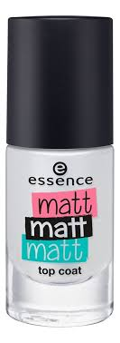 <b>Верхнее матовое покрытие</b> для ногтей Matt Matt Matt Top Coat 8мл