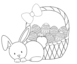Small Picture Easter Coloring Pages Crazy Little Projects