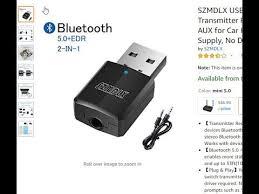SZMDLX USB <b>Bluetooth 5.0</b>+EDR <b>Adapter</b> Review - YouTube