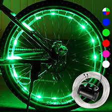 <b>LED Bike Spoke Lights</b> Waterproof DAWAY A12 <b>Cool Bicycle Wheel</b> ...