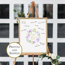 custom lavender floral canvas