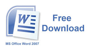 ms office word  ms office word 2007