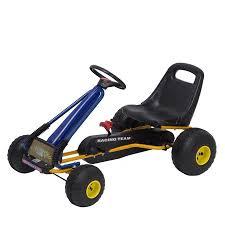 <b>Pedal Go Kart</b> Kids Riding Ride Toys <b>Adjustable</b> Seat 4 Wheels ...