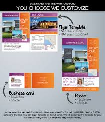 luxury real estate flyer template com luxury real estate agent flyer template complete design series