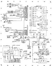 wiring diagrams 1984 1991 jeep cherokee xj jeep 96612