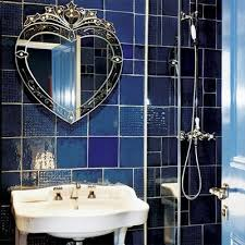 blue bathroom tile ideas:  images about bathroom on pinterest vanity units blue mosaic and roller blinds