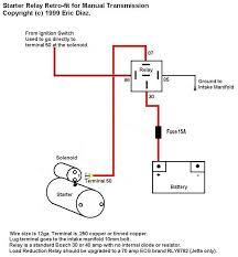 starter solenoid wiring diagram ford wiring diagram schematics simple circuit relay wiring diagrams nilza net