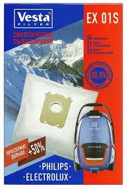 Купить Vesta filter Синтетические пылесборники EX 01S на ...