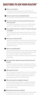 questions to ask your realtor navigation
