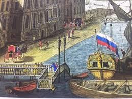 История освещения Санкт-Петербурга. XVIII век