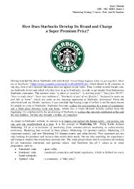 karly mulyadi how does starbucks develop its brand and charge for