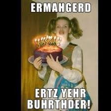 Crazy nerdy chick happy birthday meme | Happy Birthday Memes ... via Relatably.com