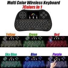 New item <b>I86</b> mini keyboard air fly mouse with <b>7 colors backlit</b> ...