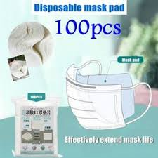 100pcs Mask Respirator Filter Pad Disposable Antivirus ... - Vova